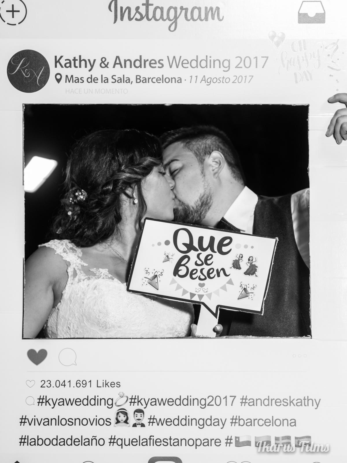 Boda de Katherine & Andrés