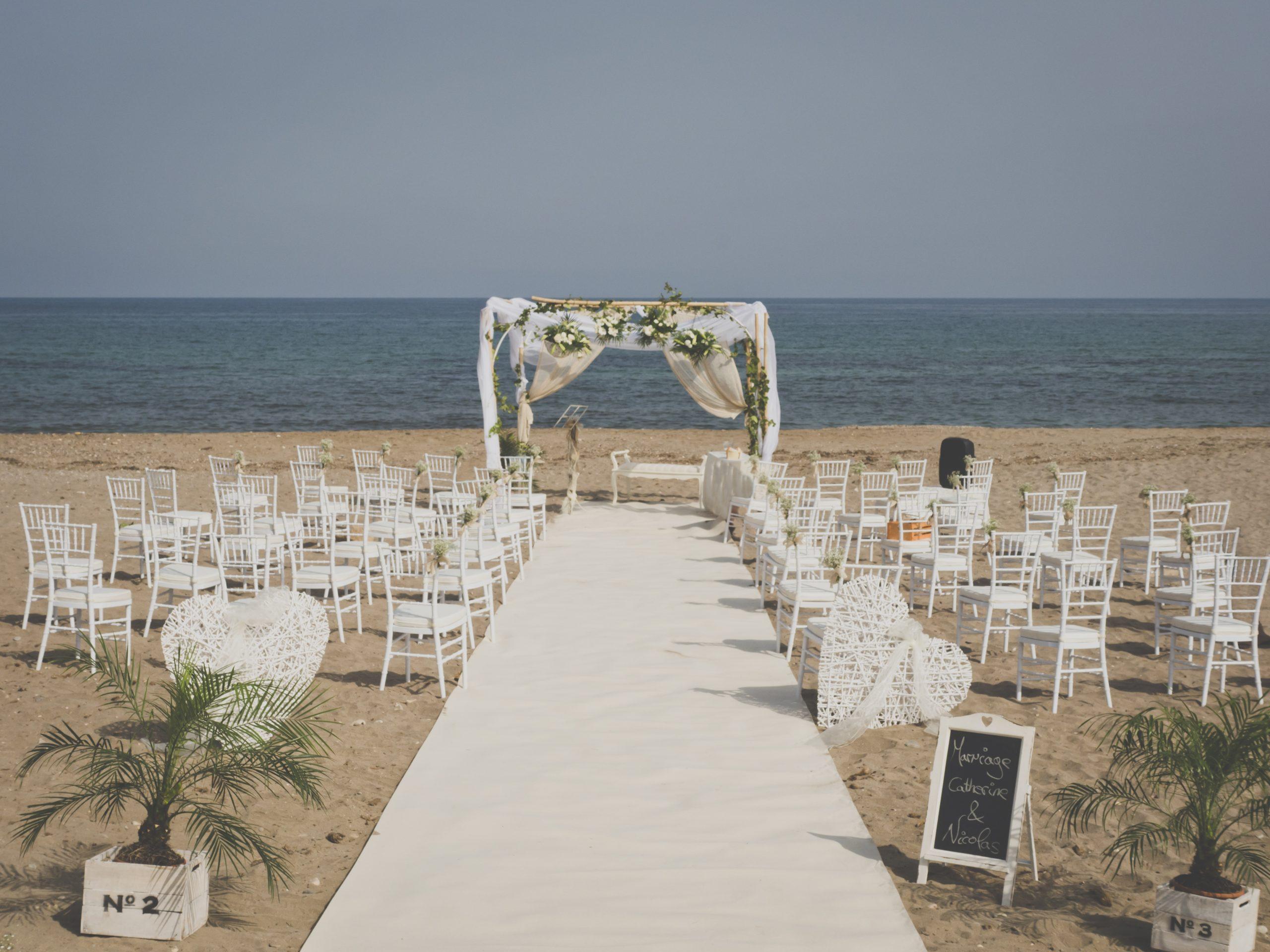 decoración en la boda
